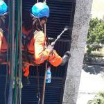 Limpeza alpinismo industrial